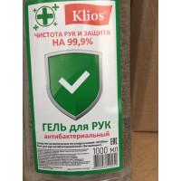 """Гель для рук антибактериальный """"KLIOS"""" 1л"""
