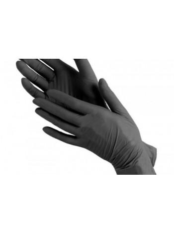 Перчатки нитриловые плотные Safe Care черные