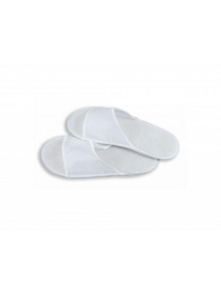 Тапочки одноразовые «АНТИКРИЗИСНЫЕ» белые 4 мм